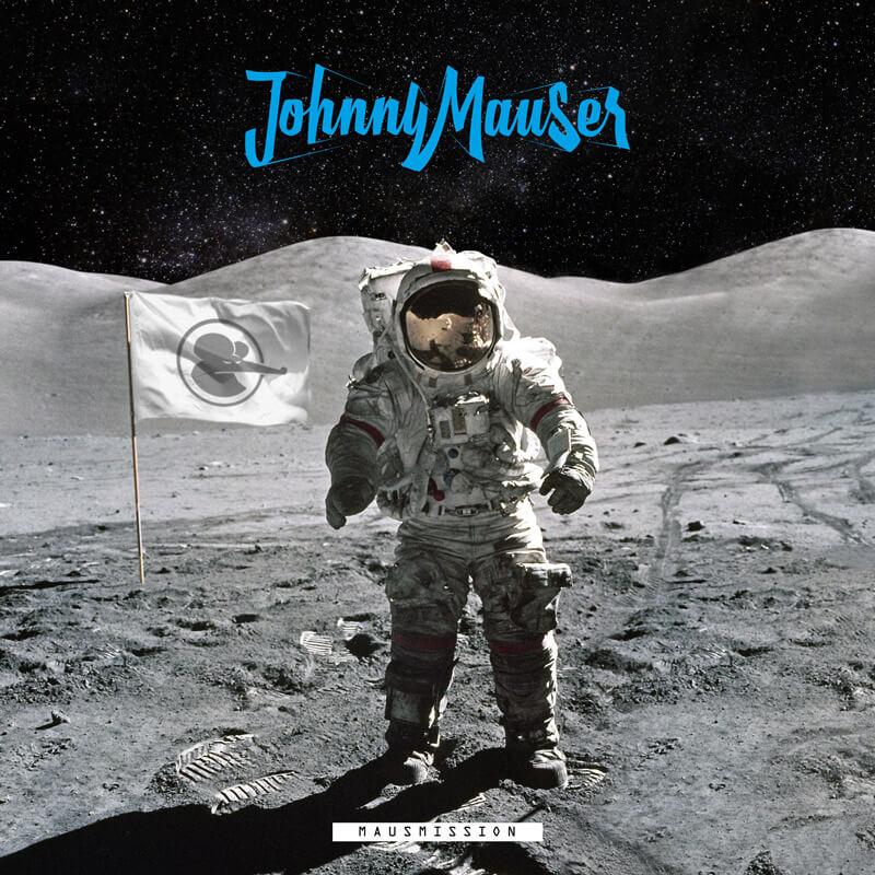 Album Cover - Johnny Mauser - Mausmission